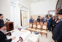 Synagogue Moscow (Photo by Federation of Jewish Communities of the CIS)