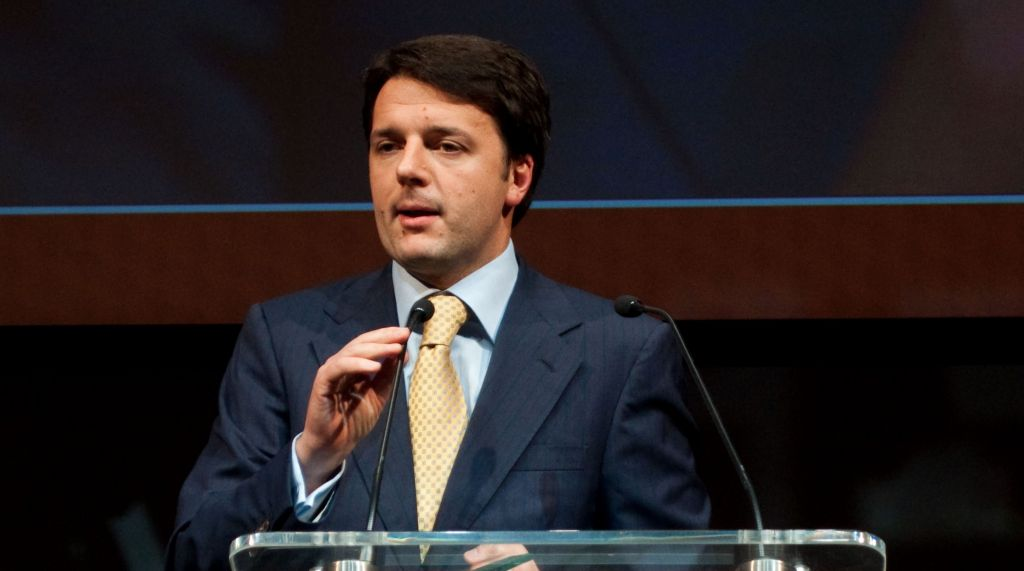 Italian Prime Minister Mateo Renzi CC BY Buy Tourism Online, Flickr