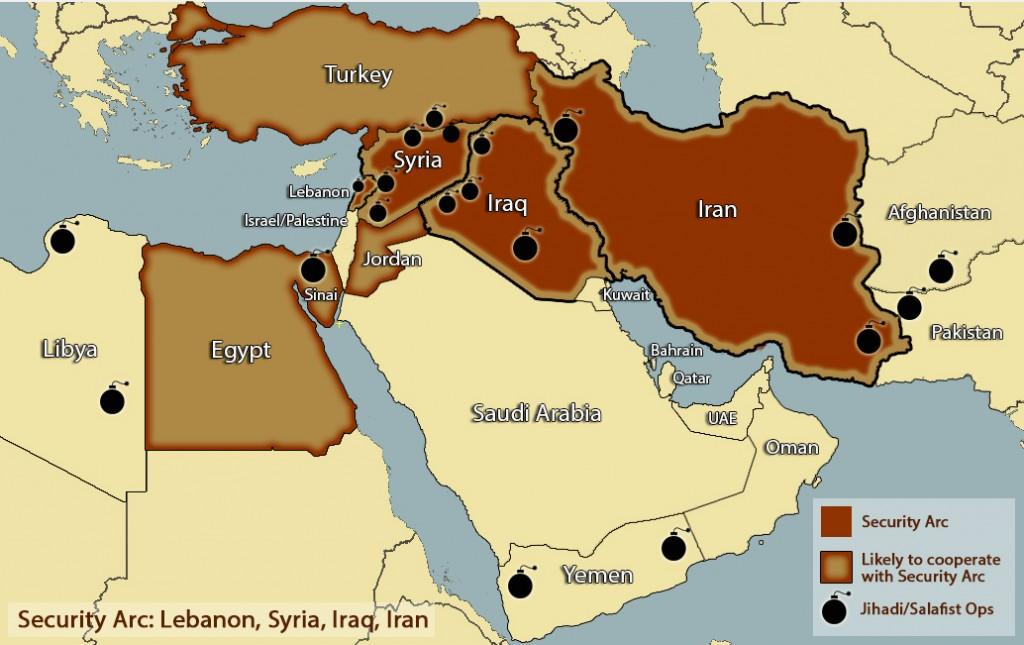 Post SaudiEgypt Rift Can China Improve IsraelEgypt Ties - Map of egypt israel jordan