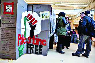 Israel Apartheid Week on a UK campus