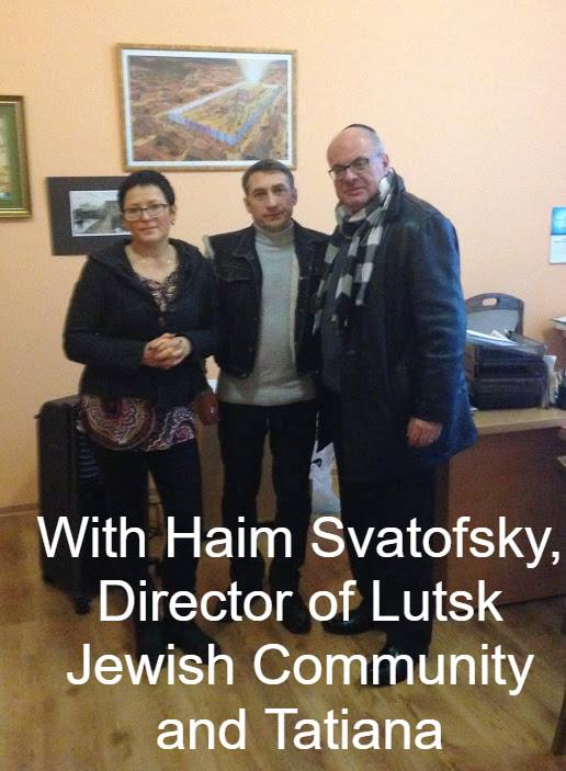 Haim and Tatiana in Lutsk subtitles