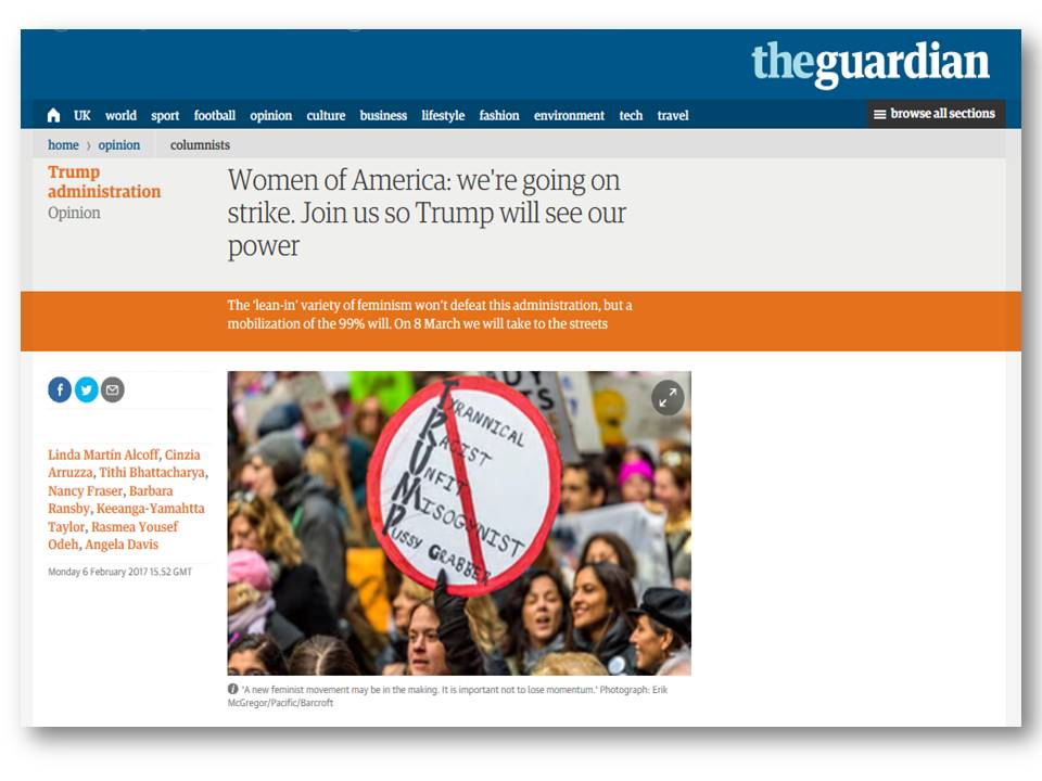 Women's Strike Guardian