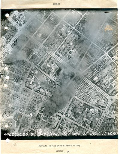 Aerial photograph by U.S. Air Force, Wikimedia Commons