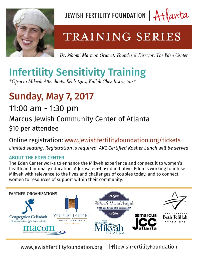 Infertility Training Mikvah