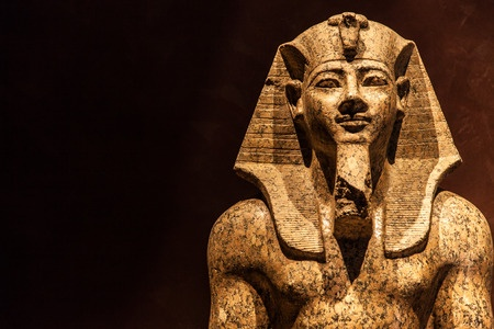Is Pharaoh an example of someone who has become a slave to his own behavior?