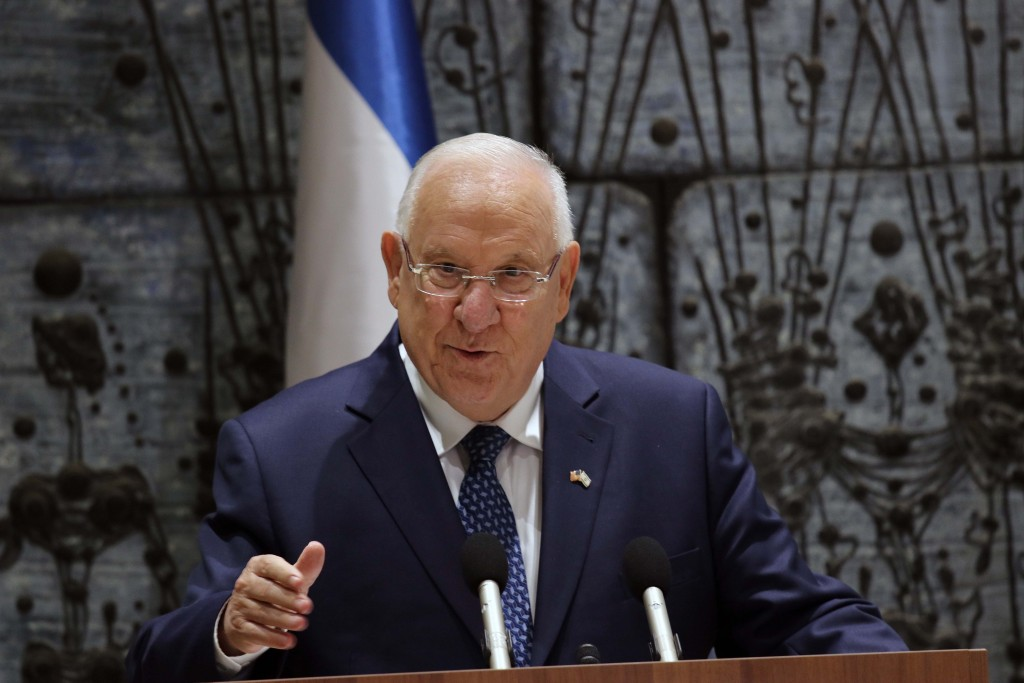 Israeli President Reuven Rivlin; photo by Carrie Hart
