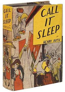 "The cover of Henry Roth's ""Call it Sleep"" (1934). Wikipedia"