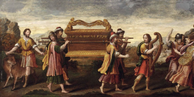Ark of the Covenant in transport to Jerusalem