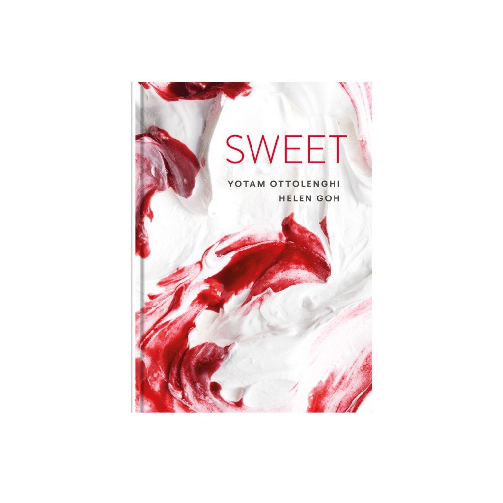 Sweet, by Yotam Ottolenghi (via http://www.ottolenghi.co.uk/media/catalog/product/cache/1/image/9df78eab33525d08d6e5fb8d27136e95/s/w/sweet_1300x1300.jpg)
