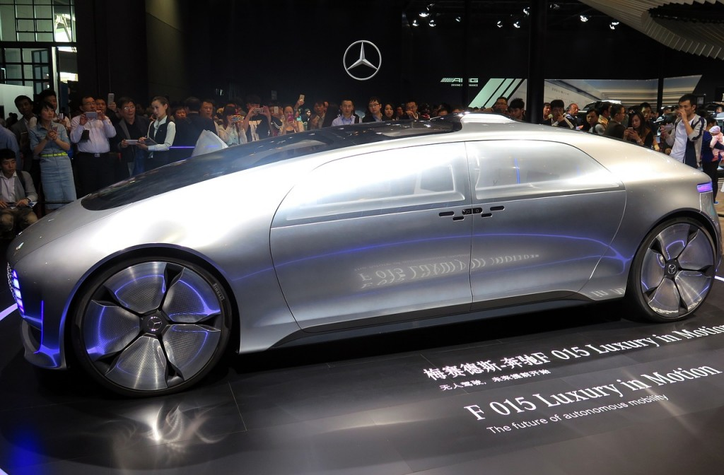 The Mercedes-Benz F 015 Luxury in Motion research car and its immersive user experience is an innovative perspective into the future of mobility.