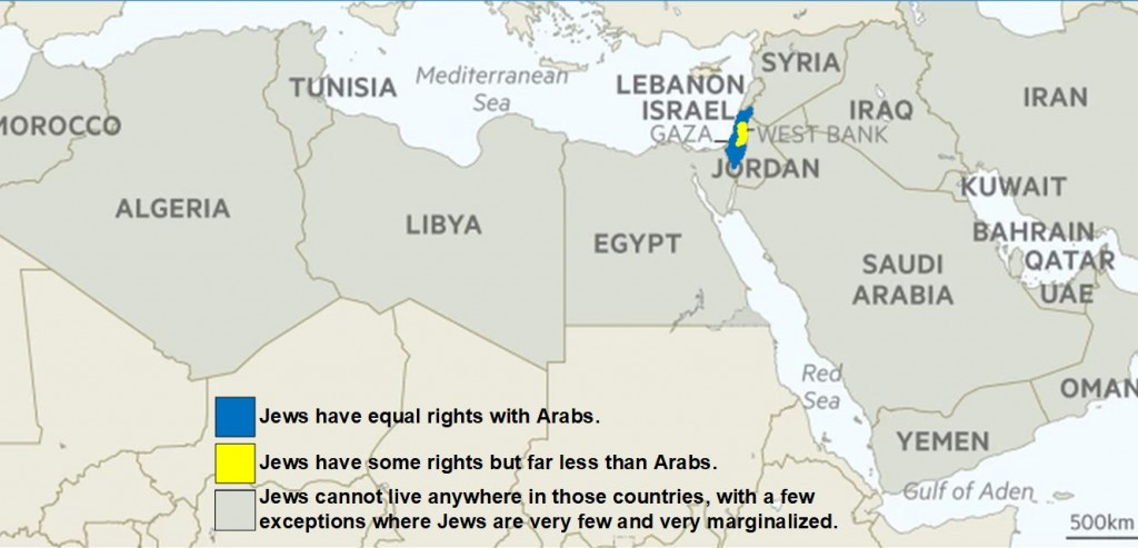 Antisemitism in the Middle East