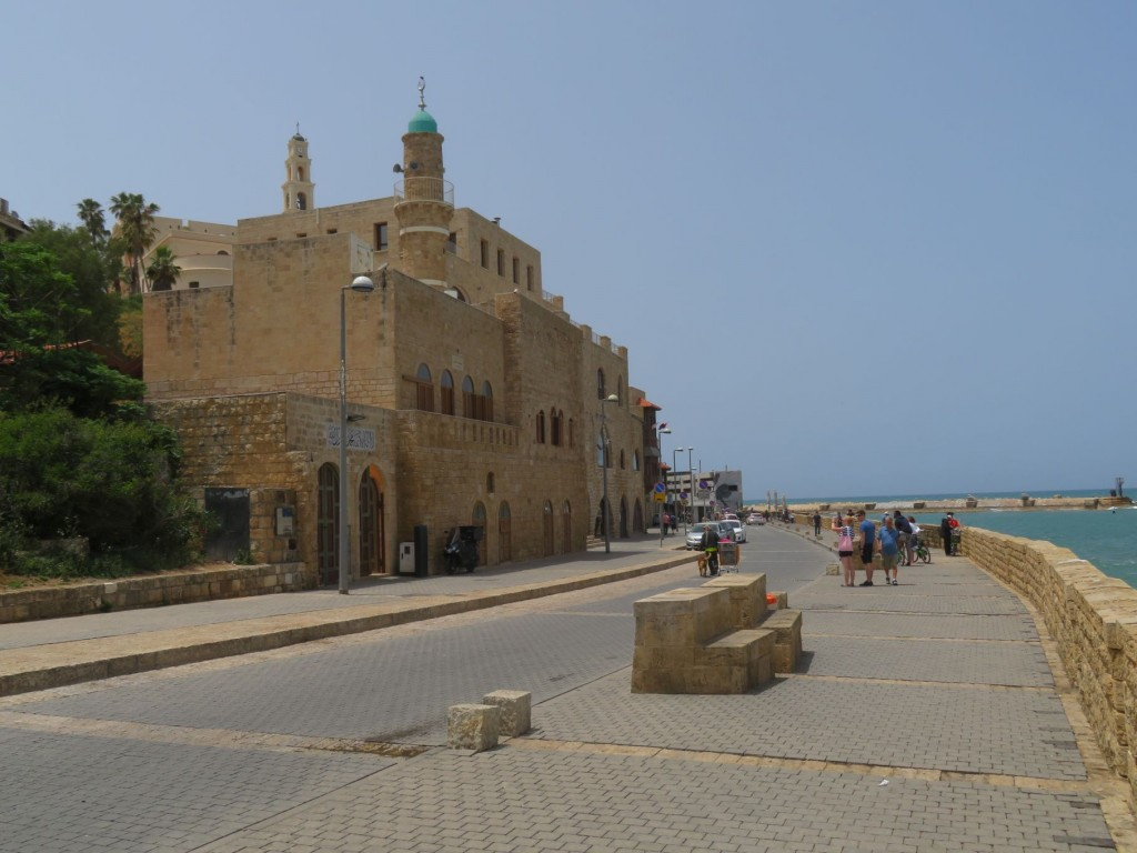 Boardwalk in Jaffa