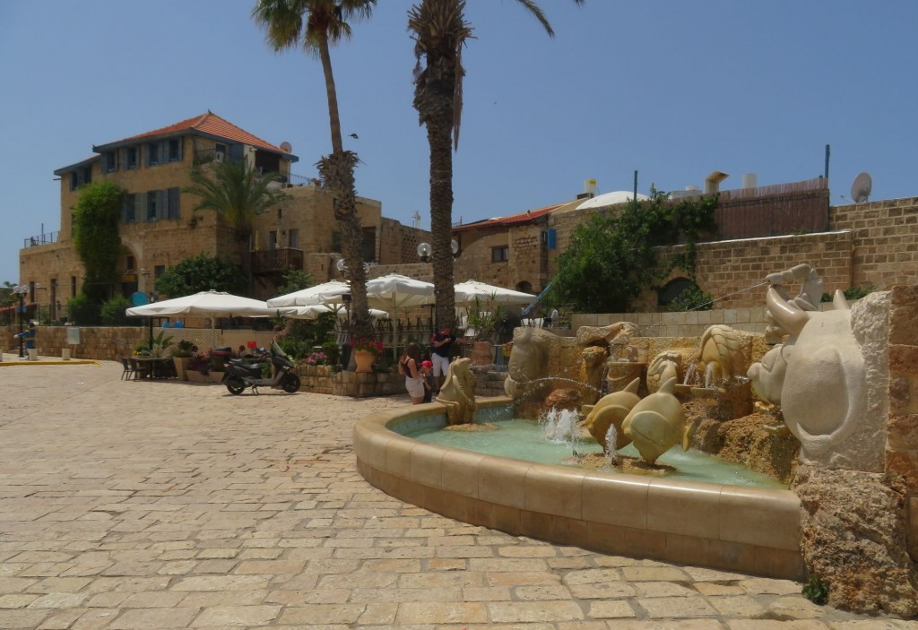 Fountain in Jaffa