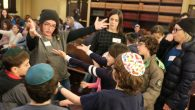 Community at Park Slope Jewish Center. Courtesy of Aileen Heiman