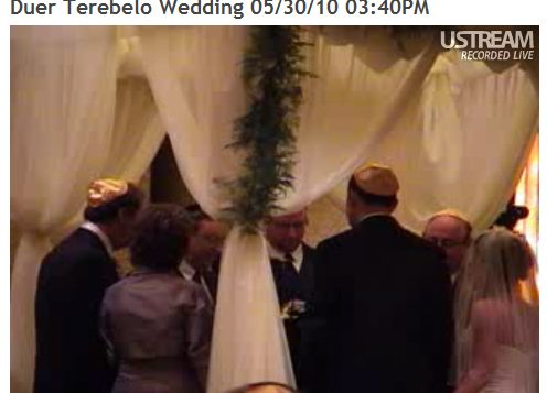 "Live Streaming Wedding Allows Relatives in Israel to ""Attend"""