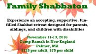 Tikvah Fall Family Shabbaton. Courtesy of Ramah