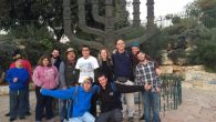 Tikvah participants in Israel. Courtesy of Howard Blas