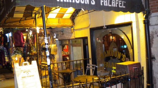Mamoun's Falafel on MacDougal Street received the most votes for taste and value on the Greenwich Village falafel crawl.