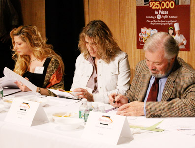 Judges, including chef Jacques Pepin