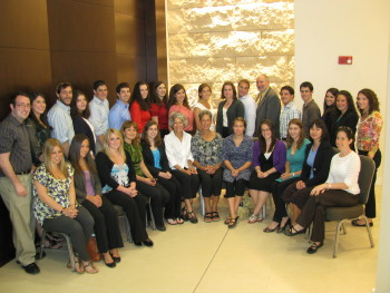 2010 participants in the Lewis Family Summer Intern Program