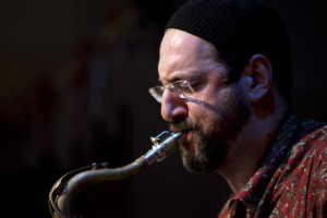 Rabbi and tenor saxophonist Greg Wall
