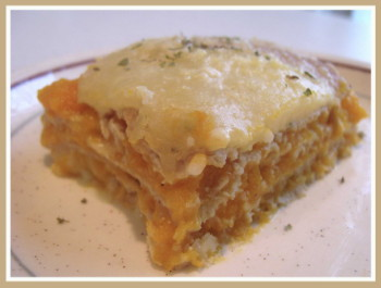 Butternut Squash Lasagna. Photo by Amy Spiro
