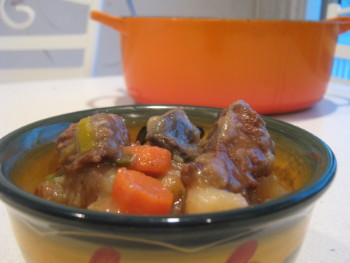 Hearty Beef Stew. Photo by Amy Spiro