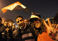 Tahrir Square, the epicenter of Egypt's democracy movement. getty images