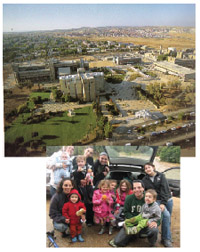 Pluralism blooms in the desert: Beersheva, above, is home to a unique group of olim whose numbers are growing.