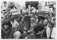 Rally on Simhat Torah in support of the movement to free Soviet Jewry,  San Francisco, 1983. American Jewish Historical Society
