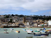 St. Ives, in Cornwall's western end, has long been a haven for visual artists. Hilary Larson
