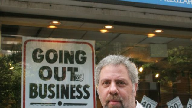 David Veseley, owner of Manhattan Judaica, hopes to clear his inventory by the High Holidays.