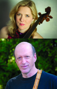 Cellist Mairi Dorman-Phaneuf and Stephen Scholle