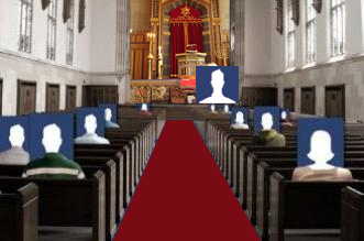 More users report using social media for religious purposes