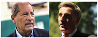 Republican Bob Turner, left and Democrat David Weprin. getty images