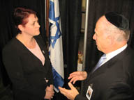 Nili Shalev, Israel's economic minister to North America.