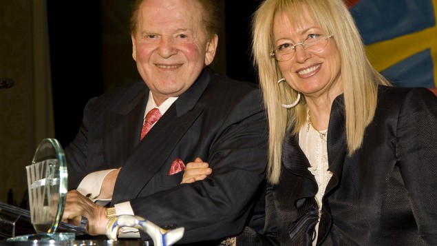 Sheldon and Miriam Adelson (Photo: Union 20)