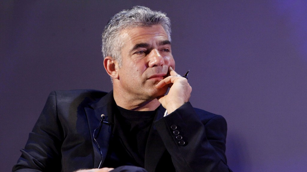 A brave leader of Israel? Yair Lapid (photo credit: Miriam Alster/Flash90)