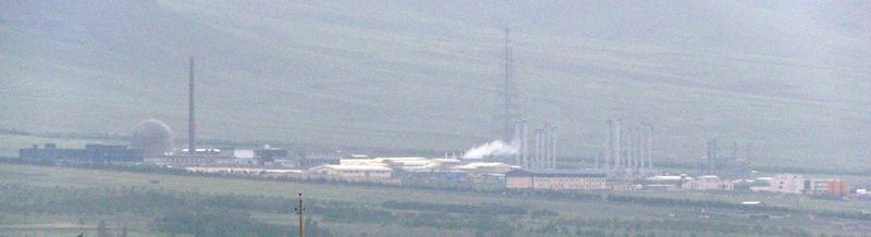 The Iranian heavy water reactor at Arak, one of many sites that make up the Iranian nuclear program (CC-BY Nanking10, Wikimedia Commons)