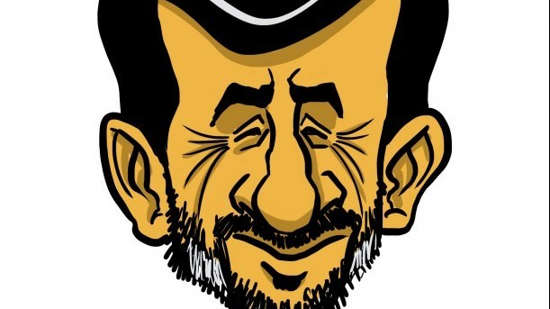 Is Mahmoud Ahmadinejad hatching naval mischief in the Red Sea as well? (illustration: Arie Katz/The Times of Israel)