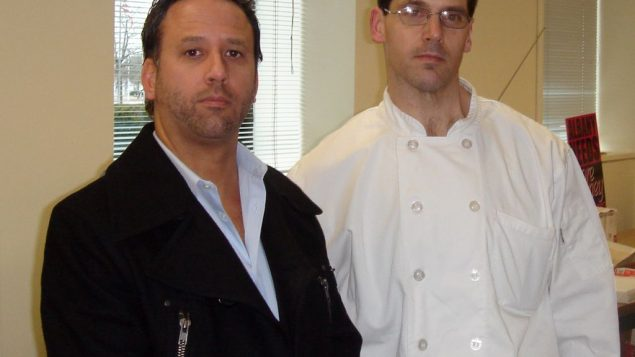 Morrell Caterer's former general manager Thomas Cataldo, left, and former executive chef Michael Savitsky.