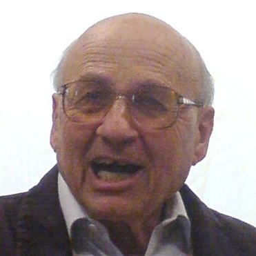 Walter Kohn (photo credit: CC-BY-SA Jtk33, Wikimedia)