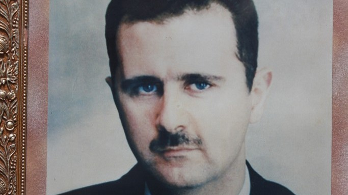 A picture-perfect husband? Bashar Assad (photo credit: Yossi Zamir/Flash90)