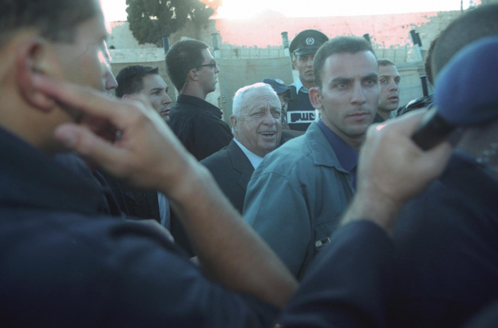 A late realization. Ariel Sharon (photo credit: Flash90)