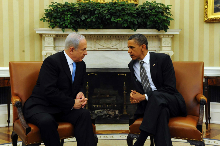 Keeping all the options on the Seder table? Obama and Netanyahu during a previous meeting. (photo credit: Avi Ohayon/Government Press Office/FLASH90)