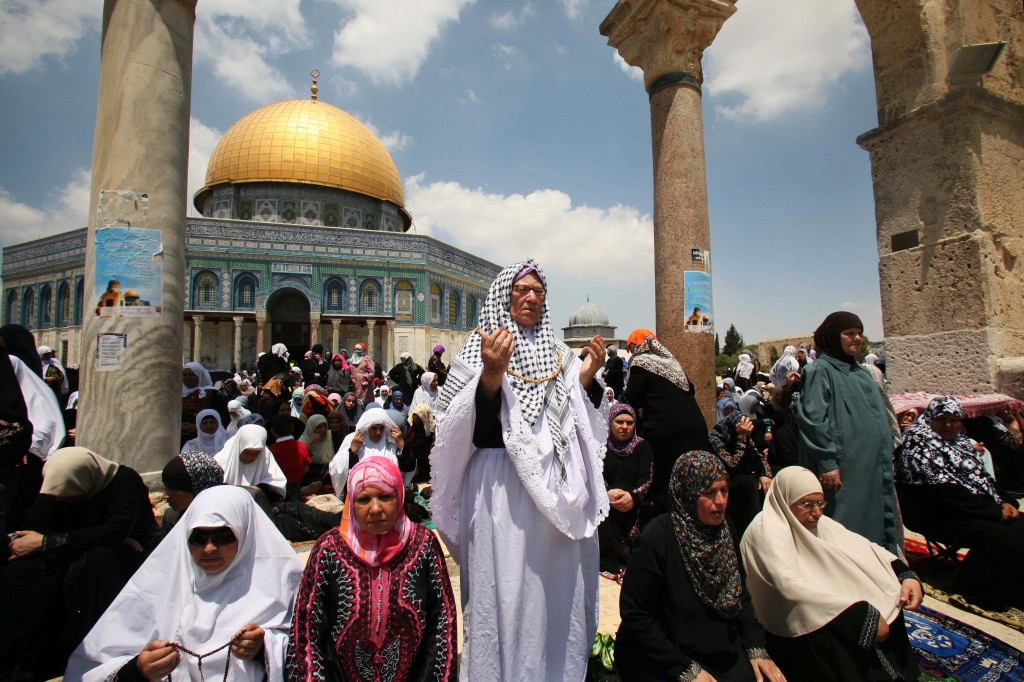 Israel Mosque Aqsa With Al-aqsa Mosque in The