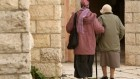 A new study has found that 16 percent of elderly Israelis report abuse (photo credit: Kobi Gideon / Flash90)