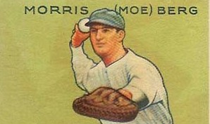"Morris ""Moe"" Berg (photo credit: Goudey, Wikimedia Commons)"