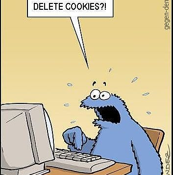 Some joke about cleaning out Web cookies before Passover