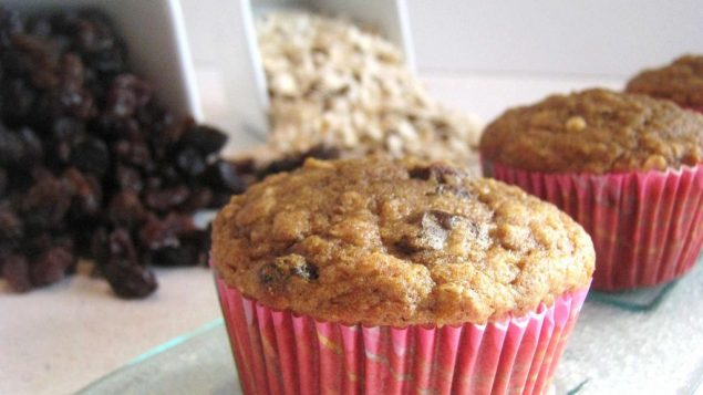 Oatmeal Raisin Muffins. Photo by Amy Spiro